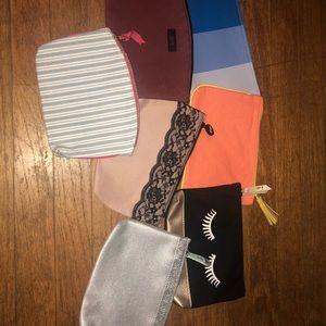 NWOT Makeup/Toiletries Bags